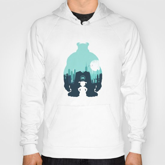 Welcome To Monsters, Inc. Hoody