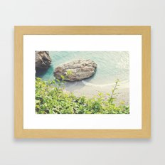 By the sea-Spain Framed Art Print
