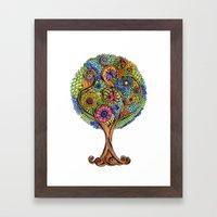 Magical Tree Framed Art Print