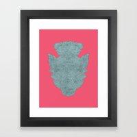 repetition series let's make love Framed Art Print