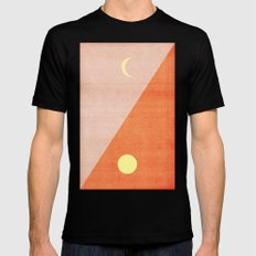 Last Days of Summer. Mens Fitted Tee Black SMALL