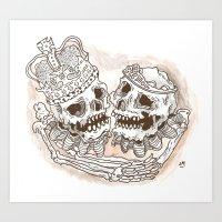 DEAD ROYALTY Art Print
