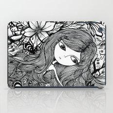 mad girl garden iPad Case