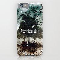 arbores loqui latine iPhone 6 Slim Case