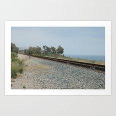 Tracks Art Print
