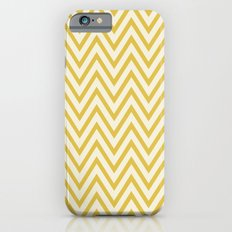 SUNSHINE - YELLOW CHEVRON Slim Case iPhone 6s