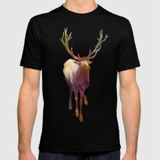 Elkish Mens Fitted Tee Black SMALL