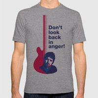 Noel Gallagher - Don't Look Back In Anger 02 Mens Fitted Tee Athletic Grey SMALL