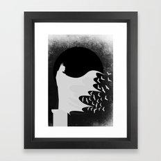 Night Rising Framed Art Print