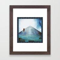 E L E V A T E Framed Art Print