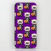 Skeleton Costume Panda A… iPhone & iPod Skin