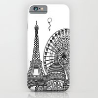 iPhone & iPod Case featuring Paris Silhouettes by Linda Åkeson