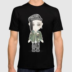 G-Dragon from Big Bang Black SMALL Mens Fitted Tee