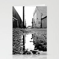 Grit City water Stationery Cards