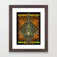 Hunting Club: Astalos Framed Art Print
