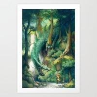 Courage Art Print