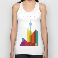 Shapes of Sydney. Accurate to scale Unisex Tank Top