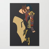 Kingdom Hearts - Terra Canvas Print