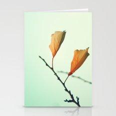 Two Flying Leafs Stationery Cards