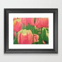 Tulip Tantrum Framed Art Print