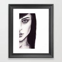 Under Your Bed (Natalie … Framed Art Print