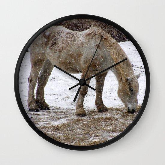 Workhorse Wall Clock