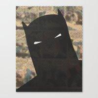 Darkest Knight Canvas Print