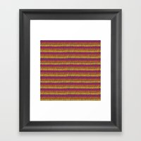 Colorful Wild Spirit Feathers Framed Art Print