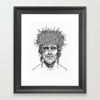 Crown Of Thorns Framed Art Print