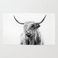 Portrait Of A Highland C… Rug