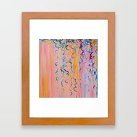 COTTON CANDY WHISPERS - … Framed Art Print