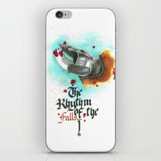 The rhythm of the falls iPhone & iPod Skin