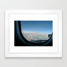 Transatlantic Framed Art Print