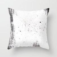 white space Throw Pillow