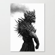 The Cursed King Canvas Print