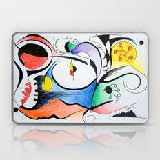 Aurora boreal Laptop & iPad Skin