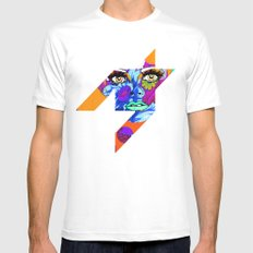 Flowers between your teeth White SMALL Mens Fitted Tee