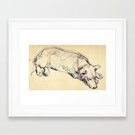 Sketch#2 Framed Art Print