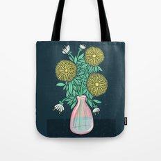 Chrysanthemum Bouquet Tote Bag