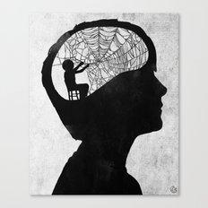 Musarañas (black and white) Canvas Print
