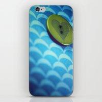 Button iPhone & iPod Skin