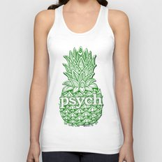 Psych Pineapple! Unisex Tank Top