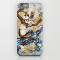 iPhone & iPod Case featuring Paul's Monkey by Bili Kribbs