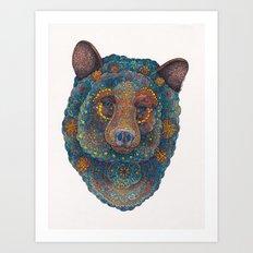 Constellation Bear Art Print