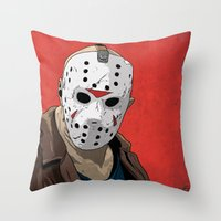 JV Throw Pillow