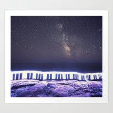 Music of the Night Art Print