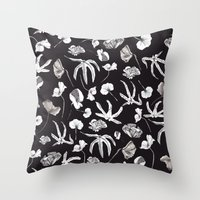 Plastic Jungle Pattern Throw Pillow