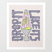DROP IT LIKE IT'S HOT Art Print