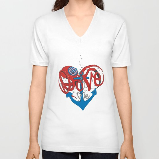 Deeply in Love V-neck T-shirt