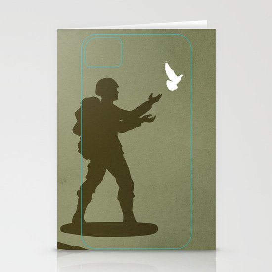 Conflict Stationery Card